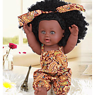 KIDDING リボーンドール 赤ちゃん(女) アフリカ人形 24 インチ フルボディシリコーン シリコーン ビニール - 生き生きとした 手作り キュート 子供 子供 男女兼用 おもちゃ ギフト