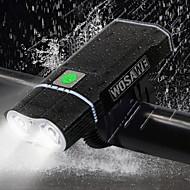 preiswerte -Fahrradlicht - Radlichter Radsport Wasserfest, Tragbar, Verstellbar Lithium-Batterie 2400 lm Radsport - WOSAWE