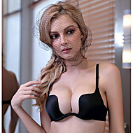 Da donna Sexy Reggiseni Push up A mezza coppa - Tinta unita