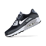cheap -Men's Comfort Shoes Leather Spring &  Fall / Spring / Summer Sporty / Casual Athletic Shoes Running Shoes / Fitness & Cross Training Shoes / Walking Shoes Breathable Black / White / Non-slipping