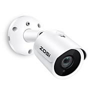 billige Utendørs IP Nettverkskameraer-zosi® ip kamera poe 4mp super hd utendørs / innendørs vanntett infrarød nattesyn onvif sikkerhet videoovervåking