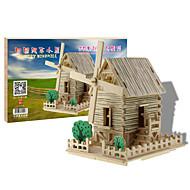 3Dパズル モデル作成キット ウッド模型 有名建造物 家 DIY 木製 クラシック 男女兼用 男の子 女の子 おもちゃ ギフト