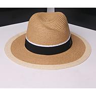สำหรับผู้หญิง ลายพิมพ์ กระดุมจั๊ม, วินเทจ / วันหยุด - ดวงอาทิตย์หมวก