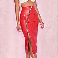 אחיד - חצאיות צינור סגנון רחוב בגדי ריקוד נשים