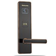 billige Dørlås-Factory OEM Sinklegering Lås / Intelligent Lås Smart hjemme sikkerhet System RFID / Nøkkelopplåsing / Lavt batteri påminnelse Leilighet / Skole / Hotell Wooden Door / Komposittdør (Lås opp modus