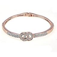 Žene Dvobojna Nakit za gležanj - Stilski, Europska Narukvice Jewelry Pink / Rose Gold Za Dar Dnevno
