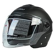 وجه مفتوح بالغين للجنسين دراجة نارية خوذة مكافحة الرياح / مكافحة الغبار / متنفس