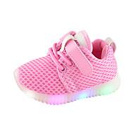 Jongens / Meisjes Schoenen Netstof Lente & Herfst Comfortabel / Oplichtende schoenen Sneakers voor Kinderen Wit / Zwart / Roze