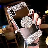 Custodia Per Apple iPhone XS Max / iPhone 6 Resistente agli urti / Con supporto Per retro Strass Resistente Acrilico per iPhone XS / iPhone XR / iPhone XS Max