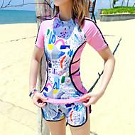 女性用 タンキニ 速乾性 伸縮性 ナイロン スパンデックス スイムウェア ビーチウェア スイムウェア 仕様 水泳 水上スキー&水上牽引型スポーツ スタンドアップパドルボード