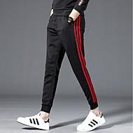 בגדי ריקוד גברים בסיסי צ'ינו מכנסיים אחיד / פסים