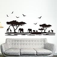 Dekoratif Duvar Çıkartmaları - Duvar Stikerları Şekiller İç Mekan