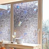 Pellicola per finestre e adesivi Decorazione Moderno / 3D Fantasia geometrica PVC Adesivo per finestre / Anti-riflesso