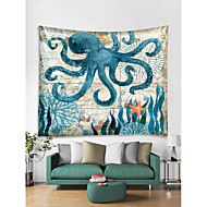 Mořské zvíře Wall Decor 100% polyester Moderní Wall Art, Nástěnné tapiserie Dekorace