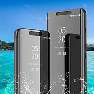 Case Kompatibilitás Huawei Huawei P30 Pro / Huawei P30 Lite Állvánnyal / Galvanizálás / Tükör Héjtok Egyszínű Kemény PU bőr mert Huawei P20 / Huawei P20 Pro / Huawei P20 lite