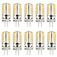 3 W Luci LED Bi-pin 220 lm G4 T 48 Perline LED SMD 3014 Adorabile Bianco caldo Luce fredda 12 V, 10 pezzi