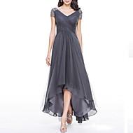 cheap -2019 New Arrival Dresses Women's Plus Size Party Maxi Swing Dress Elbise Vestidos Robe Femme - Solid Colored V Neck Summer Navy Blue Gray Purple XXXL XXXXL XXXXXL / High Waist