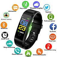 Herrn Uhr Digitaluhr Quartz Silikon Schwarz / Blau / Rot 30 m Wasserdicht Smart Bluetooth Analog Draußen Modisch Schwarz Rot Blau / Chronograph / LCD