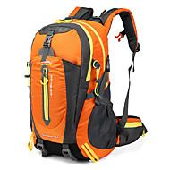 40 L Rucsaci Curele respiratorii - Multifunctional Ușor Impermeabil Rezistent la zrâgieturi În aer liber Camping & Drumeții Alpinism Ciclism / Bicicletă Nailon Oxford Verde Militar Rosu Albastru / Da