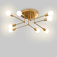 8-Light Sputnik / Linear / Geometrical Flush Mount Lights Ambient Light Painted Finishes Metal Matte, Creative, New Design 110-120V / 220-240V