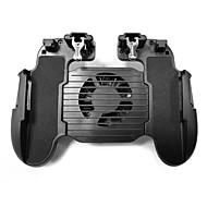 h5 mobilny kontroler gamepada wyzwala przyciski ognia z wentylatorem chłodzącym do pubg