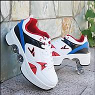 Jongens / Meisjes PU Sneakers Little Kids (4-7ys) / Big Kids (7jaar +) Comfortabel Rood / Wit / Blauw / Wit / zilver Lente / Herfst