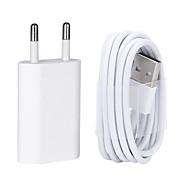 USB-laderkabel med 8 pin data for iphone / 7/6 / 6s pluss / 5 / 5s / 5c / se