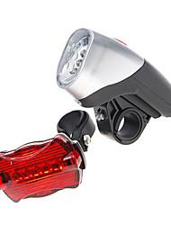 Luzes de Bicicleta Luz Frontal para Bicicleta Luz Traseira Para Bicicleta LED Ciclismo AAA Lumens Bateria Ciclismo