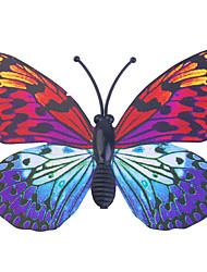 cheap -Glow-in-Dark Butterfly 6Pcs Home 3D butterfly wall stickers with Pin&Magnet  curtains Fridge Decoration