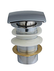 dreno de bronze clic-clac para lavatório (0572-nxc109)
