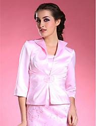 3/4-length satenski svadbeni jakni / vjenčanica (52036) elegantan stil