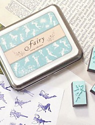 cheap -Wedding Rubber Stampers Fairytale Theme