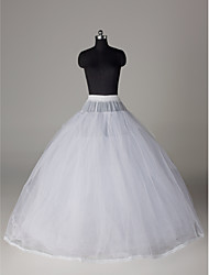 cheap -Wedding Special Occasion Slips Nylon Tulle Netting Floor-length Ball Gown Slip With