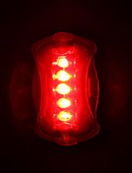 Велосипедные фары Задняя подсветка на велосипед Светодиодная лампа Велоспорт Светодиодная лампа AAA Люмен Батарея Велосипедный спорт