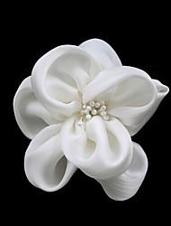 Недорогие -Женский Атлас Искусственный жемчуг Заставка-Свадьба Особые случаи На каждый день Цветы