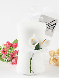 cheap -Calla Lily Elegance' Vase Shaped Candle Favors Wedding Favors