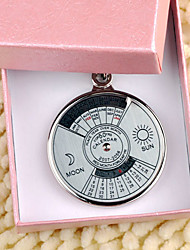 Personalized Key Ring - Perpetual Calendar (set of 6)