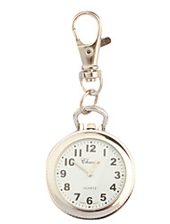 cheap -Stainless Steel Pocket Watch with Keychain Cool Watches Unique Watches Fashion Watch