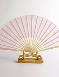 Недорогие -розовые шелковые стороны вентилятора (набор из 4)