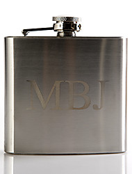 Groom Groomsman Stainless Steel Hip Flasks Wedding Anniversary Birthday