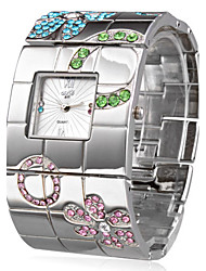 cheap -Silver Fashion Steel Bangle Women's Watch Cool Watches Unique Watches