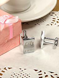 Noivo Padrinho do Noivo Botões de Punho e Clipes de Gravata Casamento Aniversário