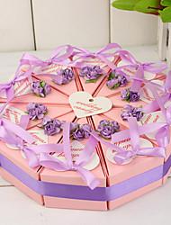 Недорогие -Торт часть окна с цветами сирени и лук (набор из 10)