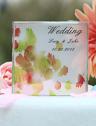 cheap -Cake Topper Garden Theme Classic Couple Crystal Wedding Bridal Shower With Gift Box