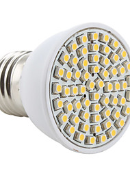 E26/E27 LED Spotlight MR16 60 SMD 3528 200lm Warm White 2800K AC 220-240V