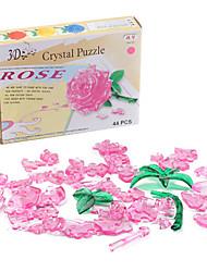 Недорогие -мини DIY 3d Хрустальная роза головоломка
