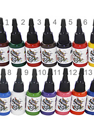 cheap -High Quality 14 Color Tattoo Ink Set 14*15ml