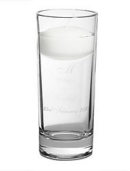 """Недорогие -6 """"персонализированная плавающая единственная свеча& свадебная церемония свадьбы"""