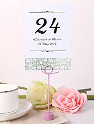 cheap -Personalized Table Number Card - Spring Idea