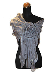 cheap -Terylene Wedding Party Evening Office & Career Shawls Wedding  Wraps With Ruffles Shawls